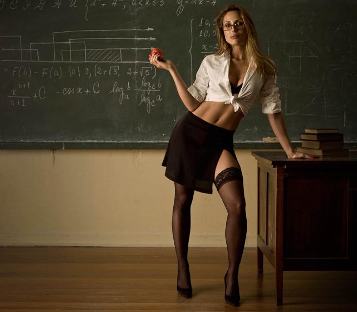 секси фото с учителем