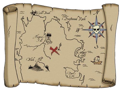 treasure map examples