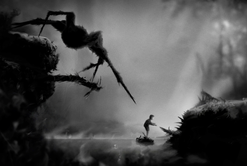 Back Playing Limbo